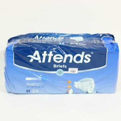 Attends Briefs | Size Small | 24 Pack