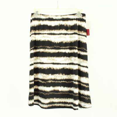 NEW 212 Collection Brown & White Skirt | Size S