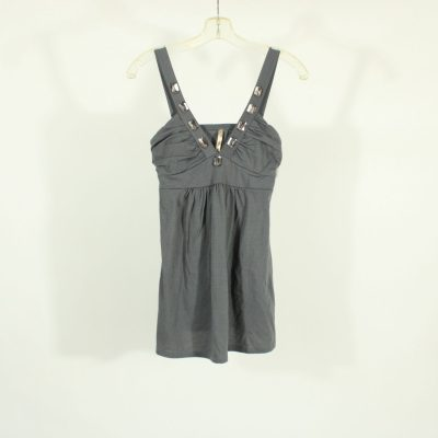 Papaya Gray Mini Dress | Size S