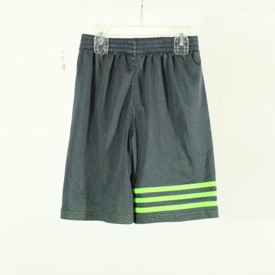 Adidas Gray & Green Athletic Shorts | Size 7