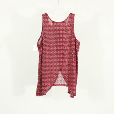 No Boundaries Pink Patterned Top | Size XXL