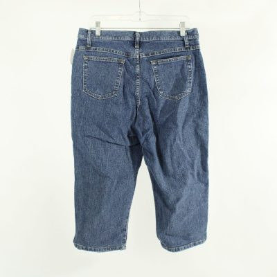 Blu Denim Capri Pants | Size 14