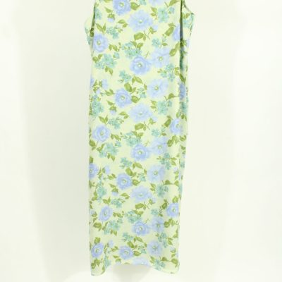 Studio Ease Blue & Green Floral Maxi Dress | Size 16