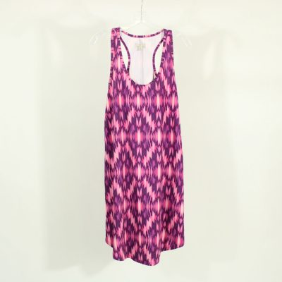 Tehama Pink Pattern Dress | Size M