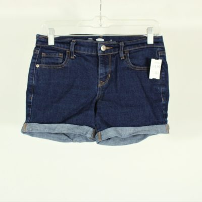 Old Navy Fitted Dark Wash Denim Shorts | Size 2