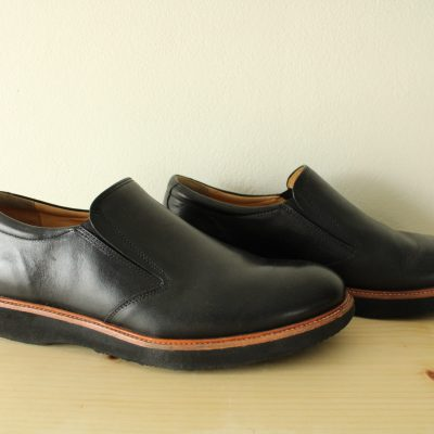 Vibram Samuel Hubbard Triple Density Comfort Sole Fully Leather Lined Loafer Shoes | Size 10