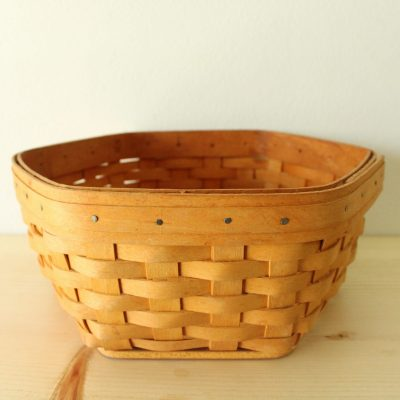 Longaberger Baskets Handwoven 9