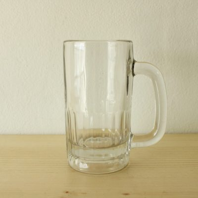 Clear Beer Stein