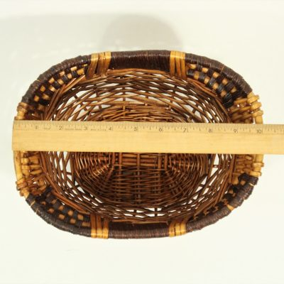 Small Brown Organizer Basket