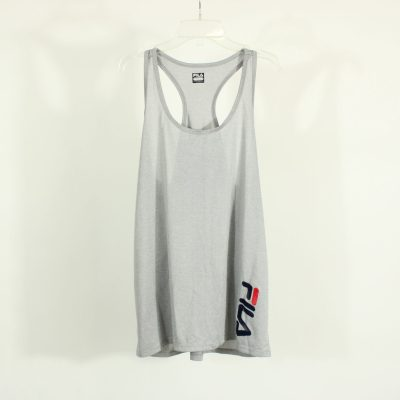 Fila Gray Athletic Tank Top | Size L