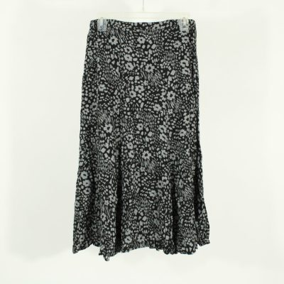 White Stag Rayon Floral Skirt   Size 8