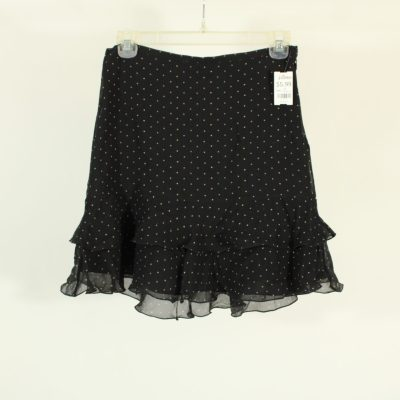 The Limited Polka Dot Black Skirt | Size 0