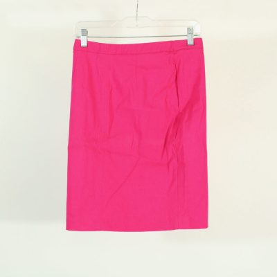 Express Stretch Pink Pencil Skirt | Size 3/4