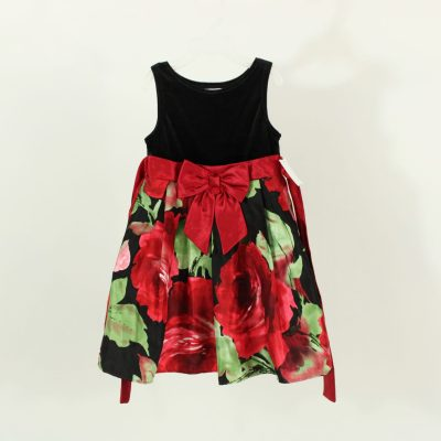 Youngland Black & Red Dress | Size 4T