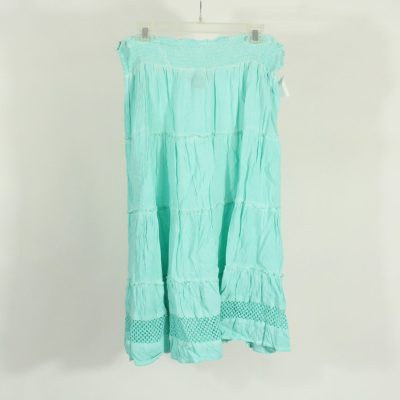 Style & Co. Blue Tiered Skirt | Size L