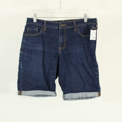 Old Navy Standard Fit Roll Up Denim Shorts | Size 10