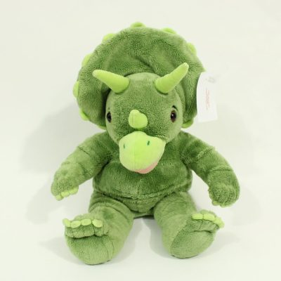 Build-A-Bear Workshop Green Triceratops Plush Toy