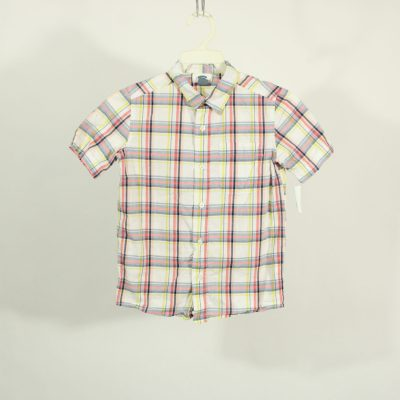 Old Navy Plaid Shirt | Size 6-7