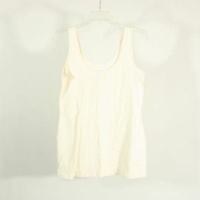 Maurices Cream Colored Tank Top | Size L