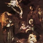 Caravaggio - Nativity_with_St_Francis_and_St_Lawrence_-_WGA04193