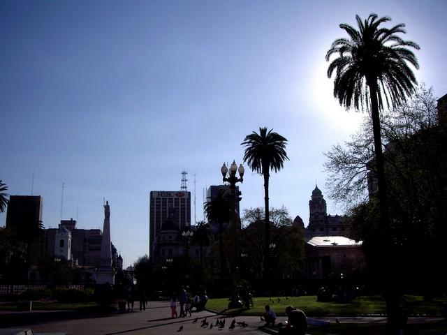 Plaza de Mayo beim Casa Rosada