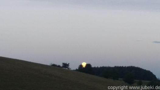 Wetter Mond