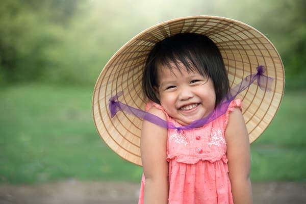 retiring overseas+Asian-child