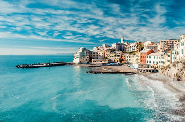 retiring abroad+bogliaso-italian-fishing-village