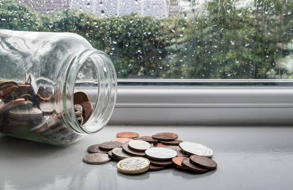 retirement income planning for women+rainy-day-coins