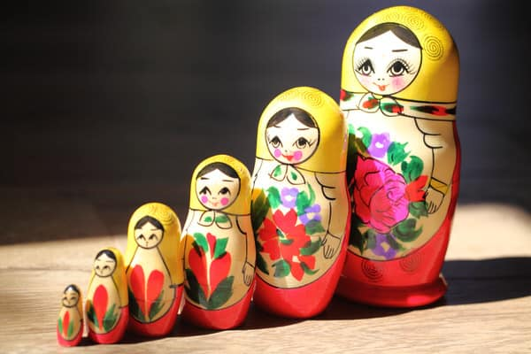 my experience with the Wahls Protocol+nesting-dolls