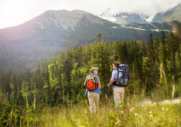 retirement transition+friends-hiking