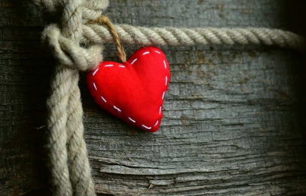 cultivate gratitude+heart-rope