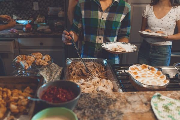 holidays with your adult kids+Thanksgiving-dinner