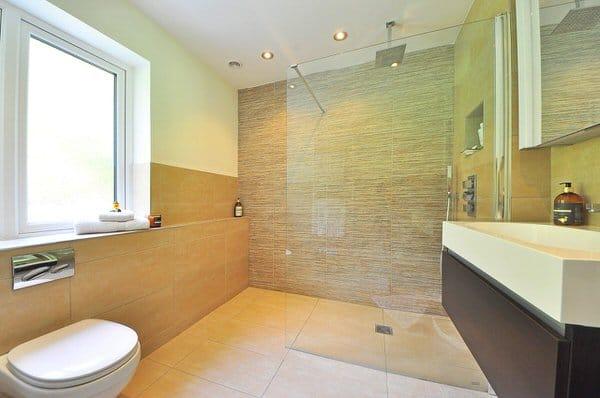 universal design myths+curbless-shower