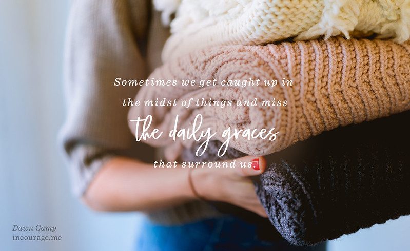 The Gift of Daily Graces @ (in)courage