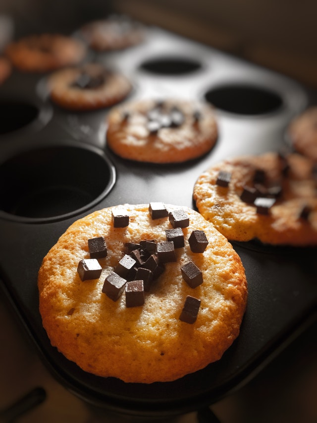 Muffins With Chocolates