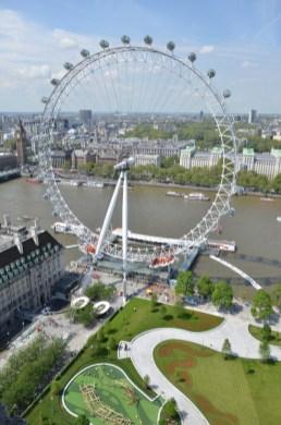 Jubilee Gardens - aerial view