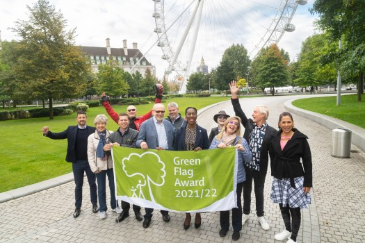 Jubilee Gardens Green Flag Award 2021/22