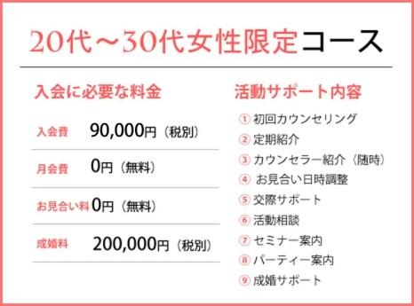 30代女性が選ぶ福岡天神の結婚相談所ジュブレの20代~30代限定コース
