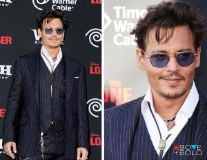 cravata cowboy Johnny Depp