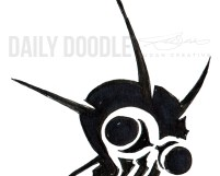 Sci-Fi Creature Design: Killer Locust Head Logo