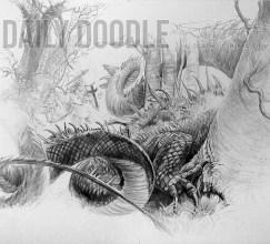 092413 St. George & The Dragon: John Howe Study: Phase 7 Artist & Owner at Judah Creative, a full service graphic design & Illustration studio