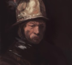 032714-Digital Doodle #8: Rembrandt-Study by Judah Fansler, Artist, Designer, Illustrator at Judah Creative, A full service Graphic Design & Illustration Studio