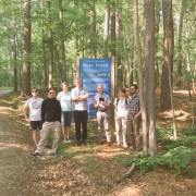 DOE PMI Fungal Genetics team scours the Duke Forest for fungi May 2016