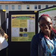 Dillon Husbands presents her research on Greenheart seed pathogens