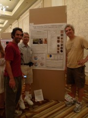 Team DOE-PMI presents a research poster at MSA 2013 at Yale, in New Haven, CT