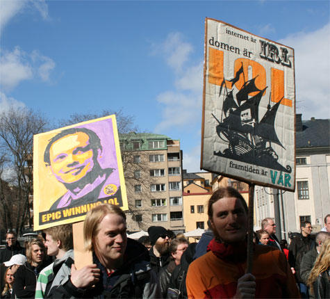 On the Pirate Bay, its trial and The Industry (1) (6/6)