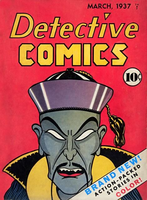 Capa de Detective Comics #1, de 1937