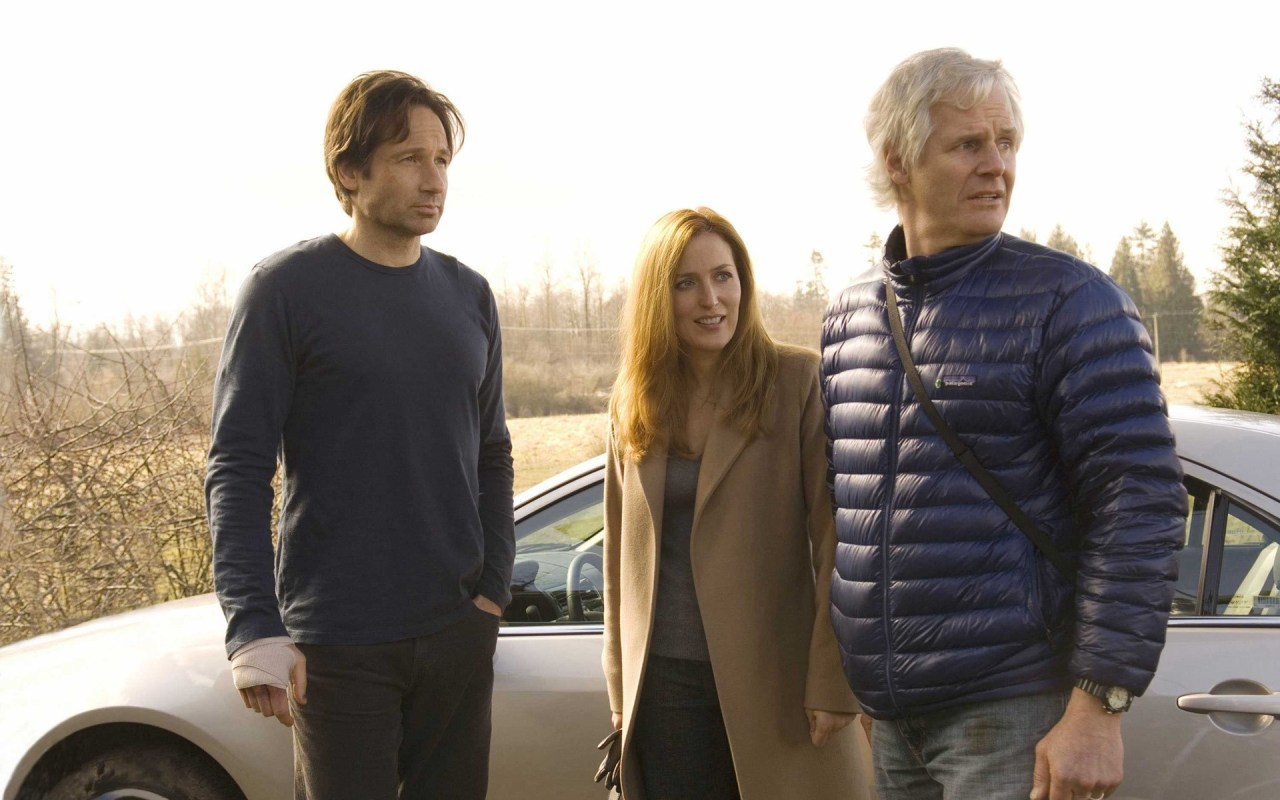 Mulder, Scully & Chris Carter