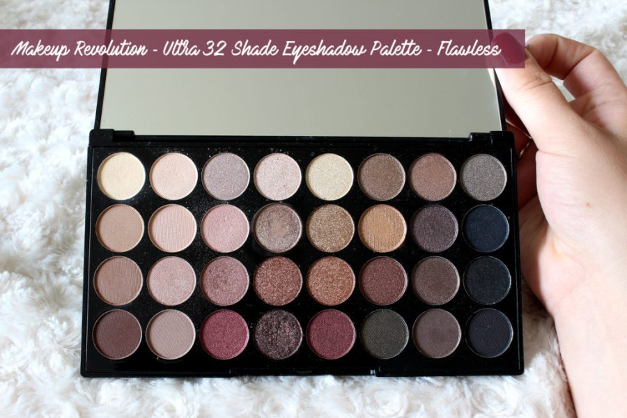 3. Make Up Revolution ✻ Ultra 32 shade eyeshadow Palette Flawless